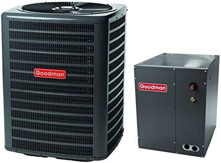 Goodman 4 OFFicial site TON 14.5 Sale Special Price SEER CAPF49 Conditioner bundle Air GSX140481
