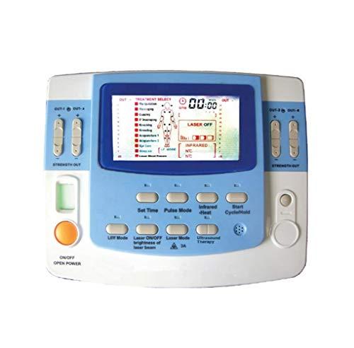 Máquina multifunción de terapia de acupuntura masajeador corporal Máquina de Fisioterapia con ultrasonido con dispositivo de acupuntura láser
