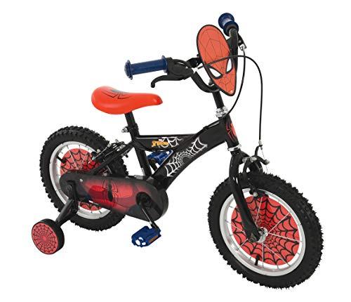 Spiderman - Bicicleta Infantil (35,5 cm), Color Rojo