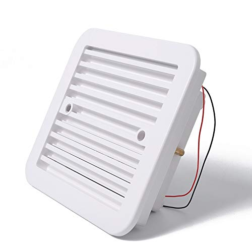 NLLeZ 1pc 12V Fridge Vent with Fan for RV Trailer Caravan Side Air strong wind exhaust Automobile Accessories Car Styling Camper