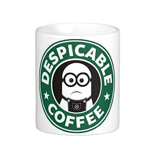 Neue exklusive Custom Design 313ml trinken Tasse, Despicable Kaffee–Starbucks Minions