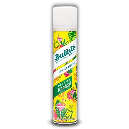 Batiste Dry Shampoo Tropical Fruity & Exotic Fragrance, 400ml