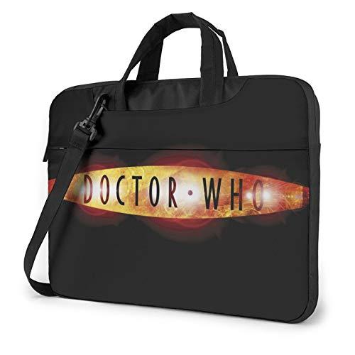 Doctor Who Laptop bag waterproof Briefcase Messenger Bag durable business messenger bag 15.6 inch