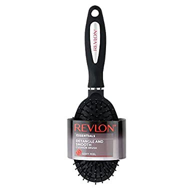 Revlon Detangle & Smooth Black Cushion Hair Brush