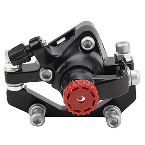Keenso Pinza de Freno de Disco, aleación de Aluminio Universal Bicicleta de montaña Pinzas de Freno de Disco Pinza de Freno Delantero/Trasero Plegable para Bicicleta (Trasero)