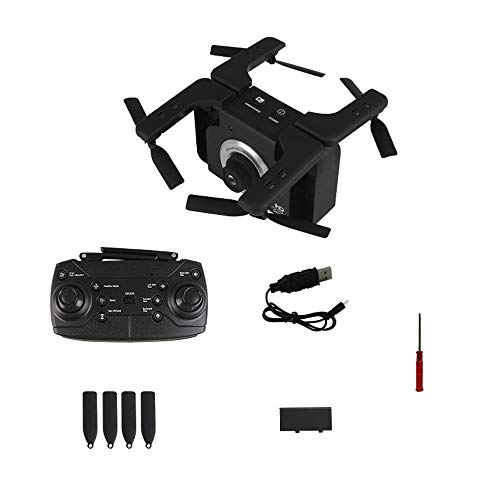 ElevenY RC Drone with Camera 2MP 720P HD Quadrocopter Altitude Hold Optical Flow Positioning Foldable RC Helicopter Dron - Rechargeable Helicopter for Kids Adults Best