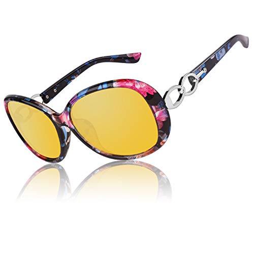 CGID Night Vision Driving Glasses Women Polarized Glasses
