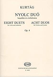 Eight Duos for violin and cimbalom