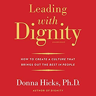 Leading with Dignity audiobook cover art