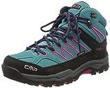 CMP – F.lli Campagnolo Unisex-Kinder Kids Rigel Mid Shoe Wp Trekking-& Wanderstiefel, Mehrfarbig (GIADA-BOUGANVILLE 30LE), 38 EU*