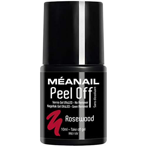 Smalto Peel Off Unghie Semipermanente • Facile e Veloce da Appicare sotto Lampada UV LED • Tenuta fino a 2 Settimane • Rimozione Effetto Sticker Senza Acetone • Vegan & Cruelty Free • MEANAIL