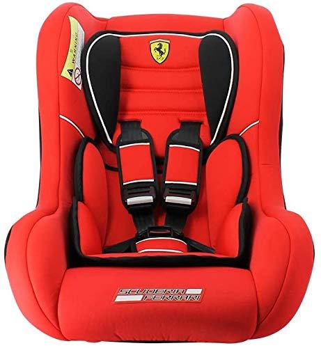 seggiolino auto per bambini Ferrari TRIO gruppo 0/1/2 (0-25kg) - produzione francese 100% - protezioni laterali