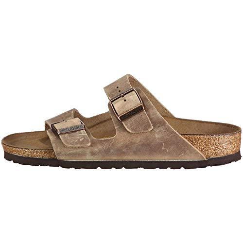 Birkenstock Arizona Tobacco Oiled Leather Sandal 39 R (US Women's 8-8.5)