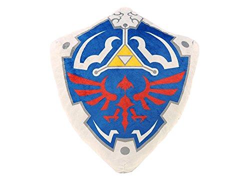 Legend of Zelda - Official San-Ei plush cushion : Hylian Shield 38cm