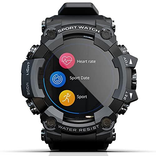 LEADALL Orologio Multi-Sport, Orologi per Uomo Donna Fitness Tracker Fitness Watch Cardiofrequenzimetro Contapassi Monitor del Sonno Tracker di attività Impermeabile per Android iPhone,Nero