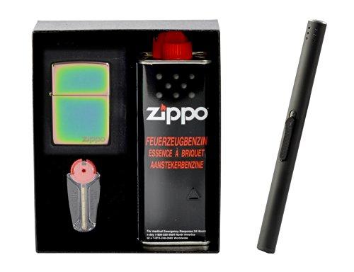 Zippo Spectrum Logo Set Regalo incluso Accendigas