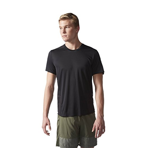 adidas TKO SS M Camiseta de Manga Corta, Hombre, Negro, XL