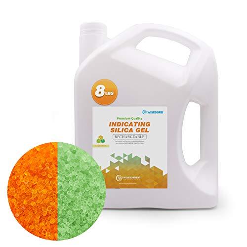 Wisesorb Premium Quality Desiccant Bulk Material (Indicating Silica Gel (Orange to Green))
