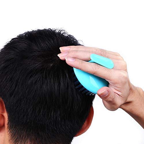 1 peine para el cuero cabelludo, masajeador de cabello cabelludo, cepillo para champú y champú para el cuero cabelludo, ducha, baño, lavado de cabello, masajeador para uso doméstico.