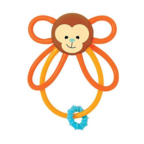 Manhattan Toy Winkel Monkey Teether Toy Anneau de Dentition Singe, 215850
