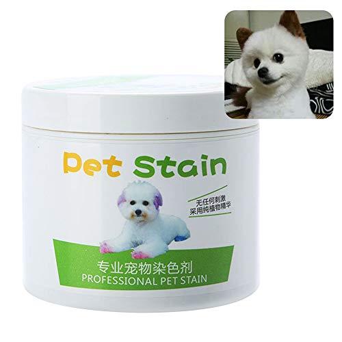 AchidistviQ 100 ml professionelle Haustierflecken, Anti-Allergische Katzen- und Hundehaarfarbe, Creme-Färbemittel, Hundehaarpflege, verblasste Haarfarbe, Schokoladenbraun