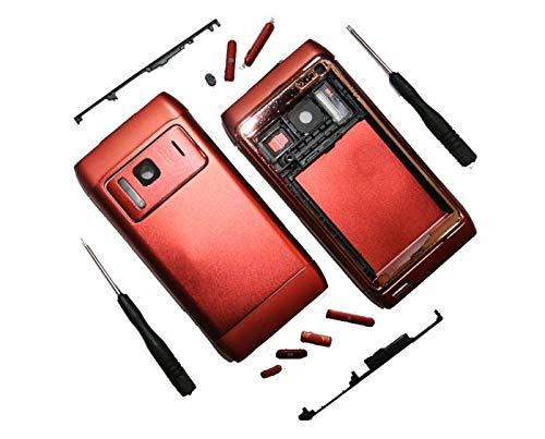 BAY24 - Cover per Nokia N8 / N8-00, con Attrezzi, Colore: Rosso