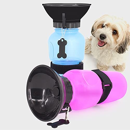 JIETAOMY Pet Limited time cheap sale Portable Ranking TOP7 Water Cup 500ml Drinking Bottle Dog