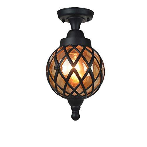 Plafondlamp, hanglamp, spinnenhanger, van metaal, buiten, waterdicht, hanglamp, globe, hanglamp voor tuin, paviljoen, omheining, in hoogte verstelbaar