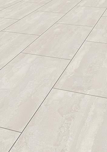 Krono Original K385 Impressions Laminatfußboden, Weiß