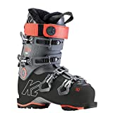 K2 Women's BFC W 90 Ski Boots, Anthracite-Coral red, 5 UK