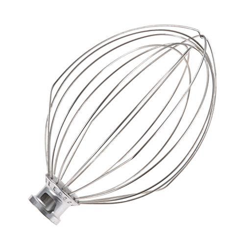 6-Wire Whip Whisk Stainless Steel Beater Mixer for KitchenAid K5AWW KSM150 5 QT 7.25