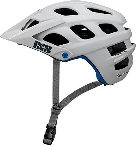 IXS Trail Evo Electric Plus E-Bike Edition Fahrradhelm für Erwachsene, Unisex, Weiß, Größe L