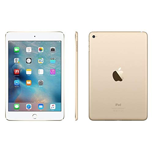 Apple iPad Mini 4 64gb Wi-Fi - Gold (Renewed)