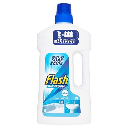 Flash Liquid Bathroom Cleaner, 1L
