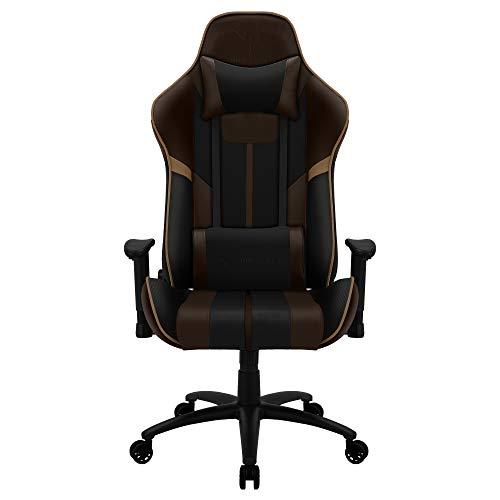 ThunderX3 BC3 BOSS, silla gaming tecnología AIR, transpiración total, marrón