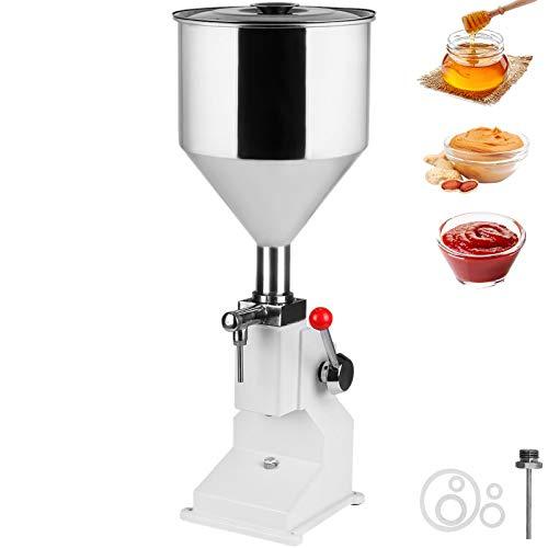 VEVOR A03 Manuelle Füllmaschine Flüssigkeit Filling Machine Abfüller Abfüllmaschine Flüssigkeitsabfüllmaschine für Flüssigkeiten Pasten