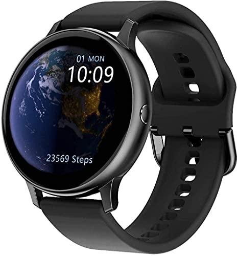 Reloj Inteligente 1.2' Pantalla Ronda Larga Vida De La Batería Ip67 Impermeable-F-D