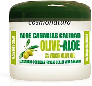 Aloe Canarias Crema Hidratante Corporal y Facial con Aceite de Oliva Virgen y Aloe Vera 100% 300 ml