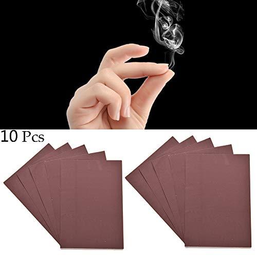 BESTT 10 stücke Mystic Magic Prop Werkzeug Trick Magic Finger Rauch Prop Finger Rauch Fantasie magier Trick zubehör Papier