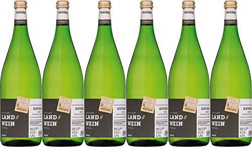 Wein & Hof Hügelheim GUTEDEL Trocken (6 x 1.0 l)