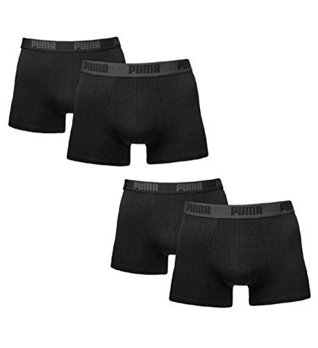 Puma Basic Boxershort / Unterhosen, 4er-Packung, für Herren Schwarz XXL