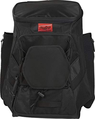 Rawlings Spieler-Rucksack R600, Unisex, Baseball-Ausrüstungstaschen Rucksäcke, R600-B, mehrfarbig, Einheitsgröße