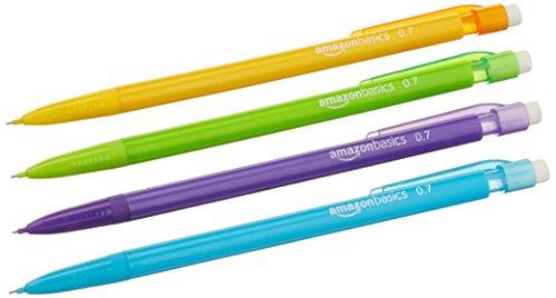 Amazon Basics Mechanical Pencils 0.7mm, Pack of 24