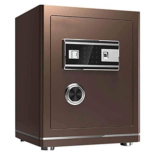 Caja fuerte de seguridad, caja fuerte de seguridad para gabinete con contraseña de pantalla táctil mediana, caja fuerte para el hogar, alarma de oficina, caja fuerte para huellas dactilares, caja de b