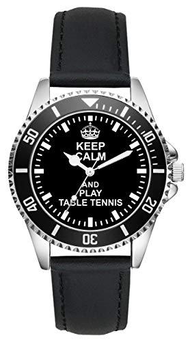 Tischtennis Geschenk Artikel Idee Fan Uhr L-2053
