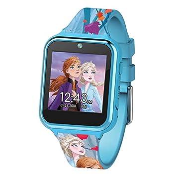 Disney Frozen 2 Touch-Screen Smartwatch Built in Selfie-Camera Easy-to-Buckle Strap Girls Smart Watch - Model  FZN4587