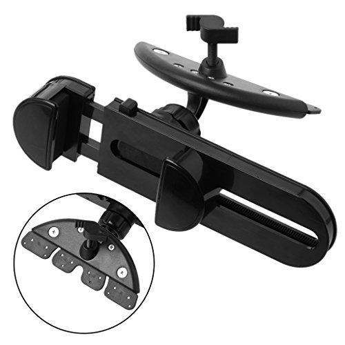 BANGNA Universal 360 Rotation Car CD Slot Mount Holder para Tableta de teléfono de 3,5 a 11 Pulgadas
