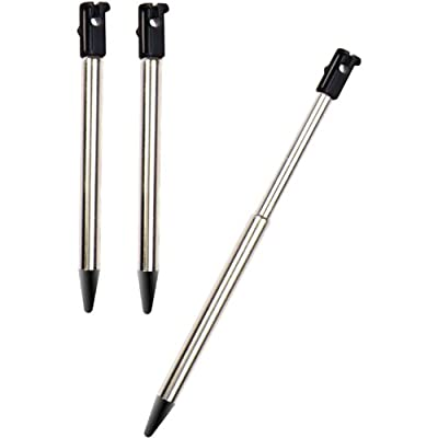 Dreamgear 3-Piece Stylus Pack for Nintendo 3DS