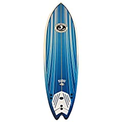High density 100% waterproof EPS foam core and foam deck with custom molded shape 3 multi-layered laminated wood Stringers coated with waterproof resin High density durable IXPE slick bottom with graphic New fins system with 3 fins included PU surf l...