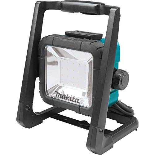 Makita DML805 14.4/18 V Corded and Cordless LED Work Light - Blue/Black